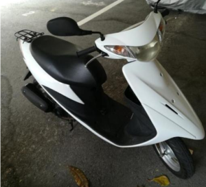 ジモティーで原付きバイクを個人売買したら2万5000円も得した話。