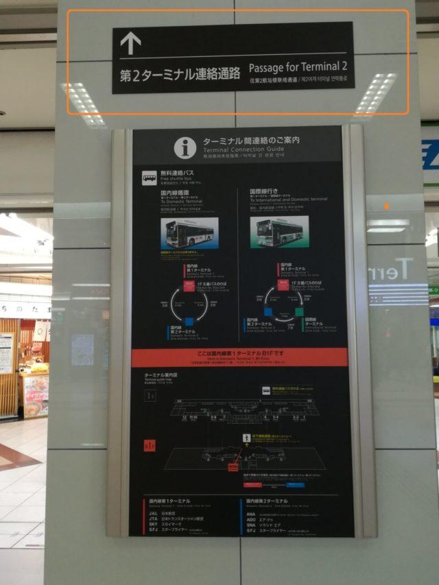 羽田空港ターミナル間違えたときの対処法。ターミナル連絡通路を使え!