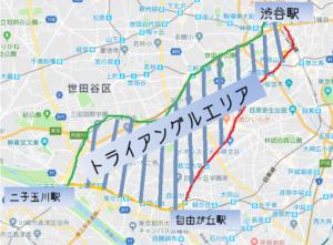 トライアングルチケットで東京観光してみた!「つーぶろさんぽ」
