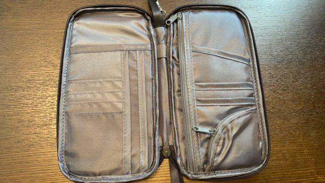 やば。この多機能パスポートケースの使い勝手が良すぎた。海外旅行にぴったりやん!
