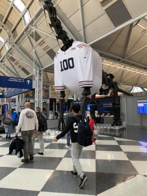 WDW旅行記 シカゴ空港 ORD 乗り換え トランジット