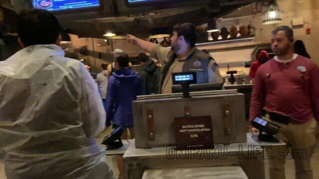 ハリウッドスタジオ モバイルオーダー WDW 年末年始 旅行記 スターウォーズ 食事