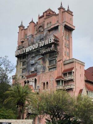 WDW 旅行記 思い出 ハリウッドスタジオ タワーオブテラー