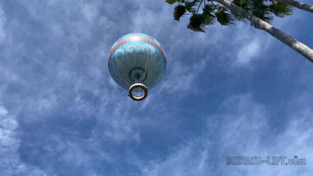 wdw disney スプリングス ディズニー 旅行記 バルーン