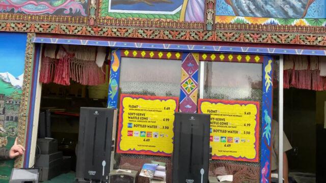 アーナンダプール・ソフトクリーム・トラック アニマルキングダム WDW 旅行記