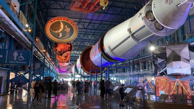 ケネディ宇宙センター WDW旅行記