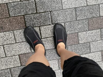 雨の日 マリンシューズ 長靴