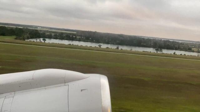 ユナイテッド航空 オーランド空港 ニューアーク WDW旅行記